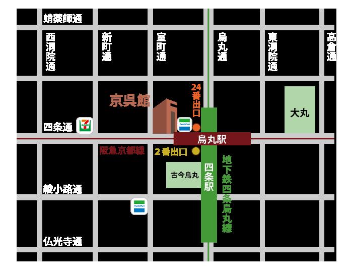 waon地図