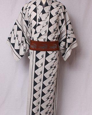 江戸時代のモチーフをモダンにデザインしたシリーズ。江戸の遊郭「吉原」の名に由来する。良縁をつなぐという験を担ぐ意味もある粋な柄の代表。