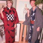 レンタル着物京呉館で着物をレンタルしてくださった海外からお越しのおしゃれなカップルのお客様。