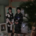 個性的な着物を探して、レンタル着物京呉館着物レンタルをご利用くださったとてもハイセンスでおしゃれな母娘さまです。