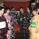 レンタル着物京呉館で着物をレンタルご利用くださったお客様。ご持参くださった小物などをふんだんにアレンジさせていただきました。