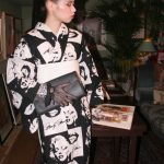 レンタル着物京呉館オリジナルメニュー。金子國義の世界観に浸れる変身プランをご利用くださったお客様です。