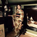 京都のレンタル着物京呉館オリジナルメニューwafrica着物でアーティスティックな世界観をご体験できる変身プランをご利用くださいました。